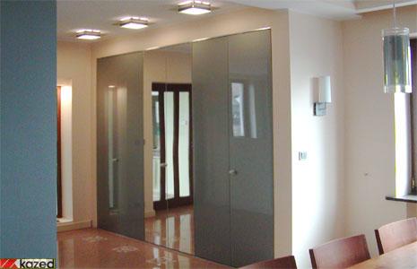 Drzwi składane do szafy